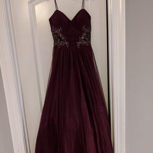 Spaghetti Strap Formal Dress